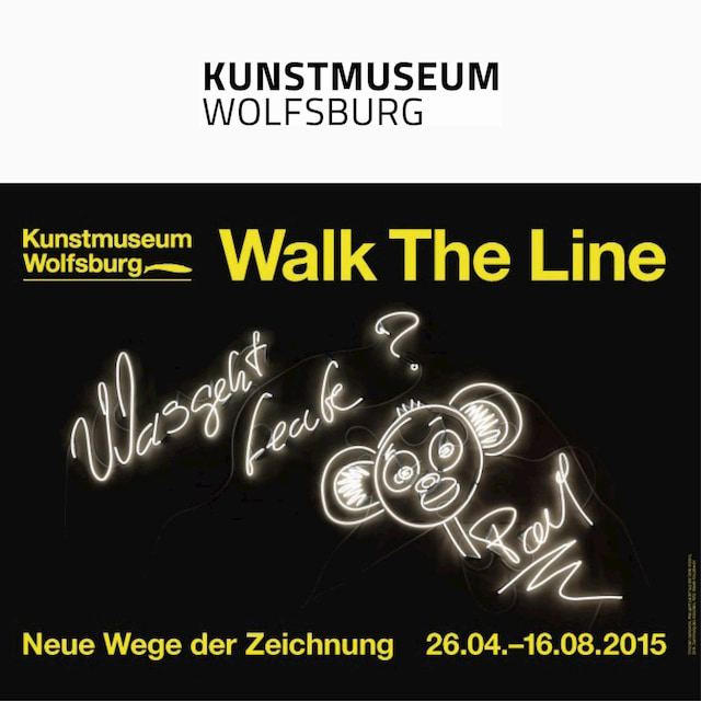 Keita Mori, Catalogue d'exposition : Walk the line - Neue Wege der Zeichnung